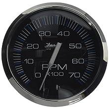 Faria 33718 Chesapeake Black 7000 rpm Tachometer