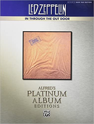 //READ\\ Led Zeppelin -- In Through The Out Door Platinum Bass Guitar: Authentic Bass TAB (Alfred's Platinum Album Editions). discurso standard Letter Traje MADELINE School negocios SALSA