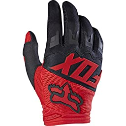 2017 Fox Racing Youth Dirtpaw Race Gloves-Red-YL