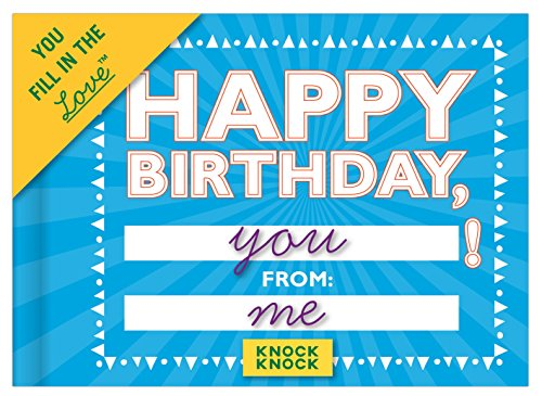 Knock Knock Happy Birthday Fill In The Love Journal Epub