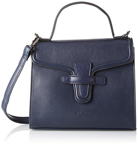 Bulaggi Toorop Handbag - cartera Mujer Azul (Dunkel Blau)