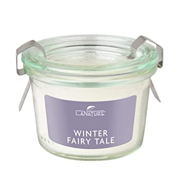 Lanature Edle Duftkerze Im Weckglas Limited Edition Winter Fairy