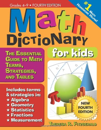 math dictionary vocabulary for kids