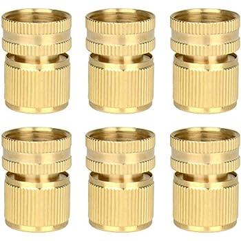 Amazon Com 6 Pieces Brass Quick Female Hose End Internal