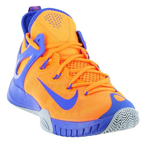Nike Men's Zoom HyperRev 2015 Basketball Shoe Total Orange/Lyon Blue-Dv Grey 705370-840 7 D(M)US