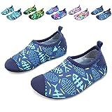 L-RUN Flexible Barefoot Water Skin Shoes Aqua Socks Beach Swim Surf Yoga Exercise