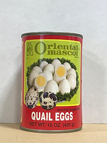 KC Commerce Oriental Mascot Quail Eggs in Water 15oz Pack of 6