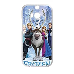 Happy Frozen fashion durable Cell Phone Case for HTC One M8