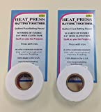 "3/4"" Fusible Batting Tape 2-pack"
