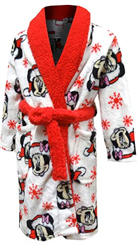 Minnie Mouse Christmas Plush Toddler Robe (2T)