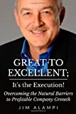Great to Excellent; It's the Execution!: Overcoming the Natural Barriers to Profitable Company Growth