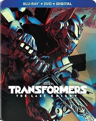 Transformers: The Last Knight Exclusive SteelBook (Blu-ray+DVD+Digital)