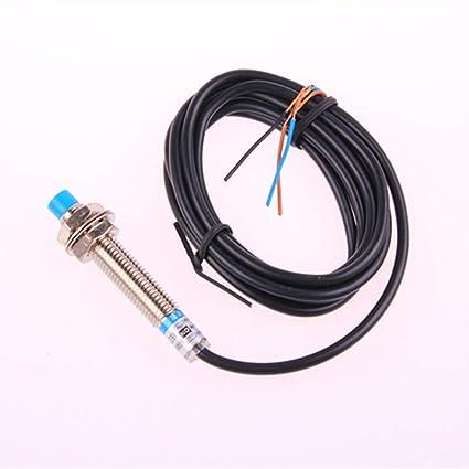 LJ8A3-2-Z//BY-G 2mm PNP NO Tubular Approach Sensor Proximity Switch DC 5-35V