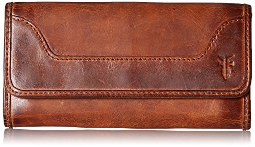 Melissa Continental Snap Wallet, Cognac by FRYE
