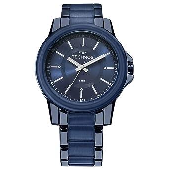 Relógio Feminino Technos Fashion Trend 2035MKJ 4A - Azul  Amazon.com ... 18001986c7