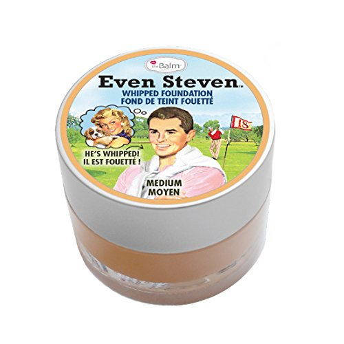 theBalm Even Steven Whipped Foundation, Medium