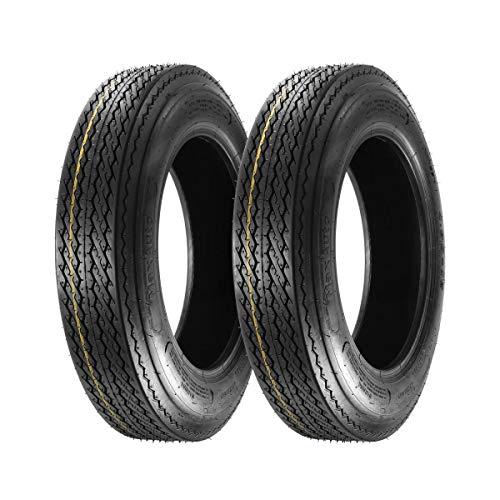 Set of 2 MaxAuto 4.80-12 480-12 4.80x12 Boat Trailer Tires