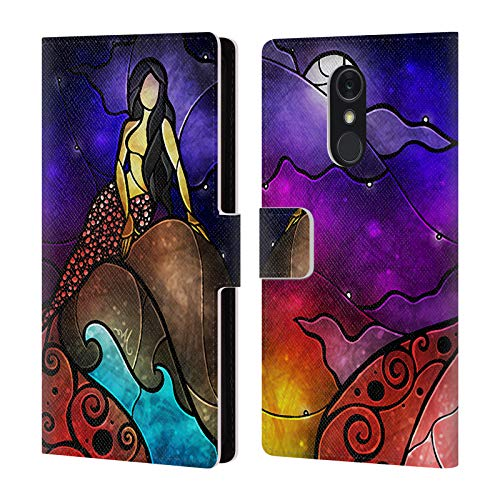 Official Mandie Manzano Fairy Tale Mermaid Leather Book Wallet Case Cover Compatible for LG Q Stylus/Q Stylo 4 (Mandie Manzano Mermaid)