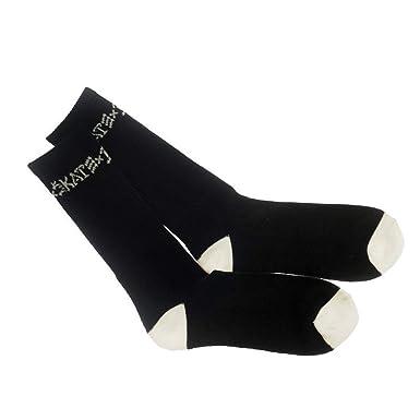 la moitié 431e5 c3042 Thrasher &destroy chaussettes de roller-noir: Amazon.fr ...