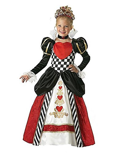Alice In Wonderland Family Costume Ideas (Queen of Hearts Child Costume - X-Small)