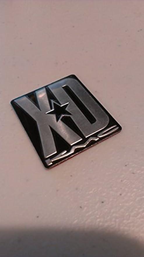 XD Wheels Replacement Sticker XD775 Rockstar Wheel Spoke