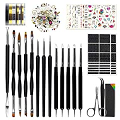 Features of Different Nail Art Pen Brushes: Soft Silicone Pens:A super soft double silicone nail art pen brush that is perfect for applying powders or glitters on your nails. Flat Brushes:This brush is also known as shader brush. These brushe...