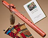 Native American Navajo Flute Package -Cherry Turtle