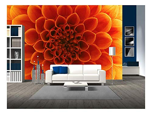 ower and Beautiful Petals - Removable Wall Mural | Self-Adhesive Large Wallpaper - 66x96 inches ()