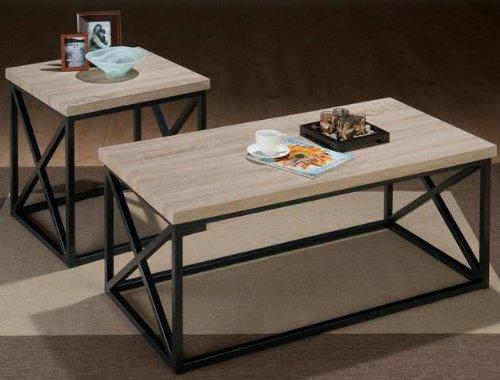 Jofran Orion Ash X Side 3PC Accent Table Set