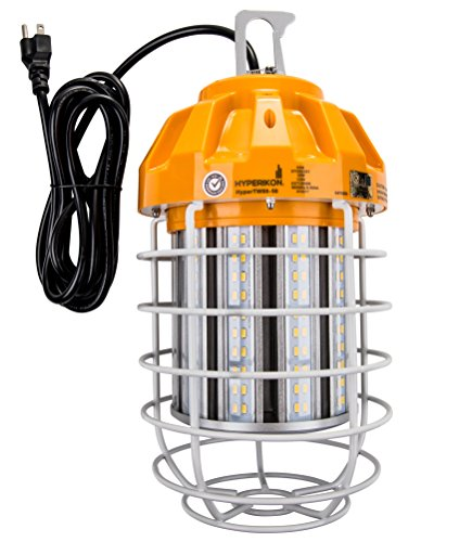 Hyperikon 80W LED Temporary Work Light Fixture, 9600 Lumens, Orange Construction Drop Light, LED High Bay Lighting, UL IP65 Waterproof, 5000K by Hyperikon (Image #7)
