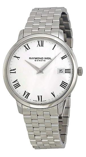 Raymond Weil 5588-ST-00300 - Reloj para Hombres, Correa de Acero Inoxidable: Amazon.es: Relojes