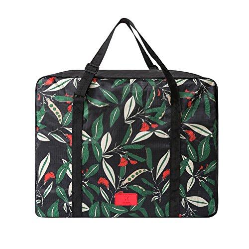 Waterproof Shoe Bag Travel Sports Gym Carry Storage Case(Black) - 5