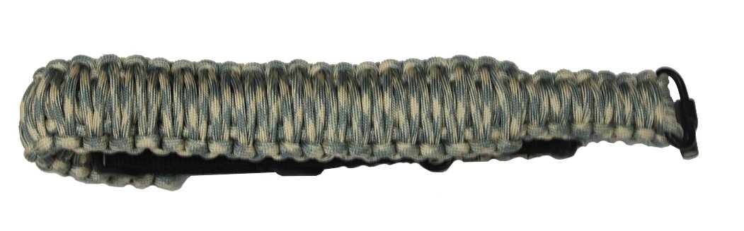 Ultimate Arms Gear 550 lb Paracord Survial Shoulder Harness Strap Sling, ACU Army Digital Camo Over 56' ft Parachute Cord with Swivels for Ruger 1022 10/22 10-22 Mini-14 SR-556 SR-22 Rifle by Ultimate Arms Gear (Image #3)