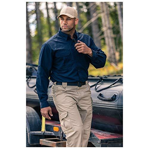 5.11 Men's Taclite Pro Tactical Pants, Style 74273, Stone, 36Wx32L