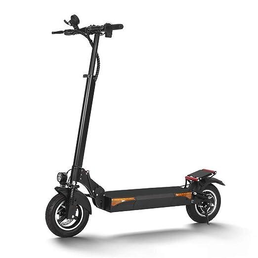 Scooter eléctrico plegable, 500W 48V 20.8Ah 10 pulgadas ...