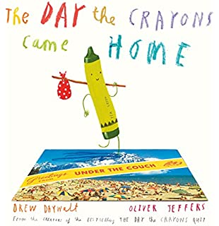 The Crayons Book Of Colours Drew Daywalt Oliver Jeffers Amazon