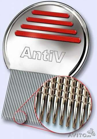 Assy 2000 Terminator Lice Comb, Professional Stainless Steel Louse and Nit Comb for Head Lice Treatment,