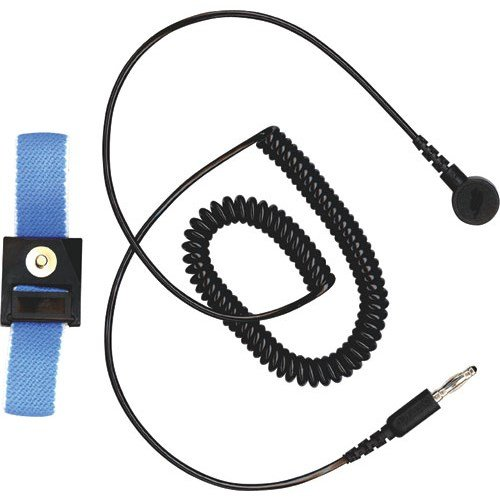 3M WBB-AFWS121M Adjustable Fabric Wrist Strap with 12 ft. Coiled Cord