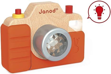 Janod- Máquina de Fotos Sonora (J05335): Amazon.es: Juguetes y juegos