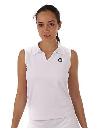 a40grados Sport & Style Plomo Polo, Mujer, Blanco, 40: Amazon.es ...