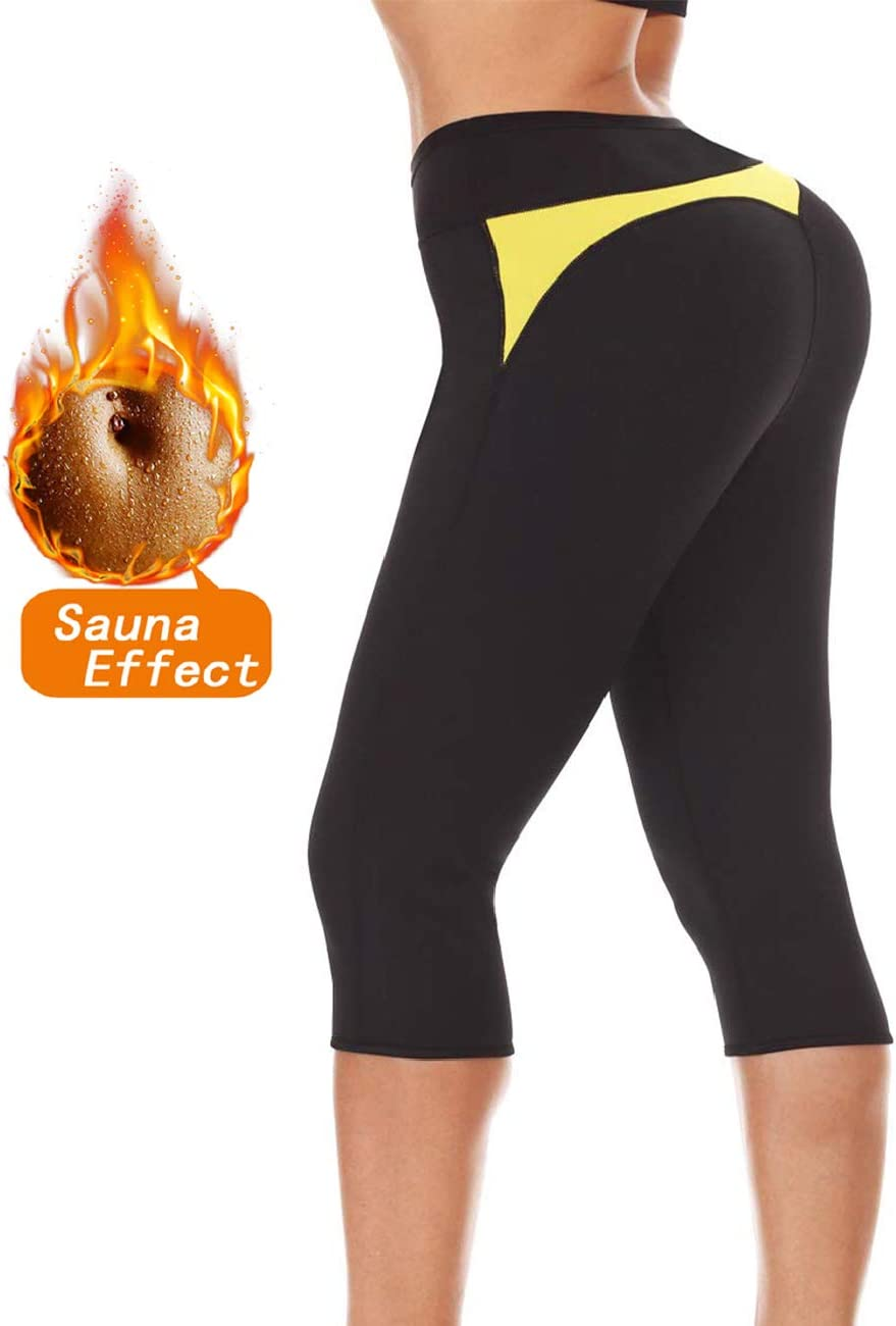 Amazon.com : LAZAWG Women Hot Shapers Sauna Pants Sweat Leggings ...