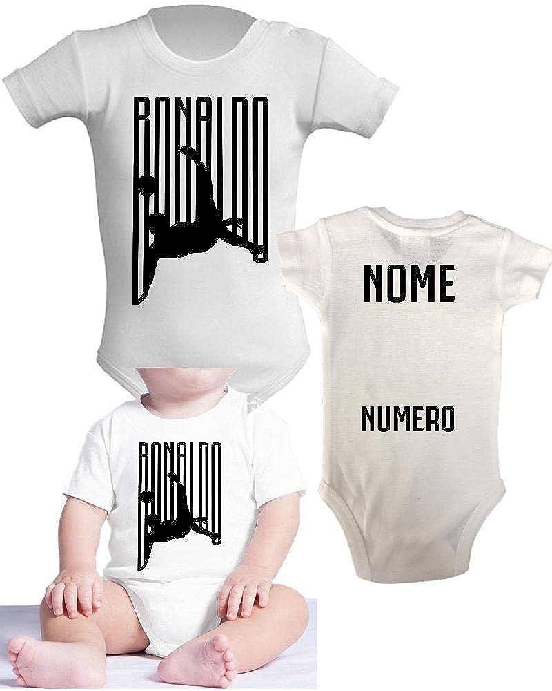 Body Neonato Ronaldo Abbigliamento Prima Infanzia Juve PS 28180-5