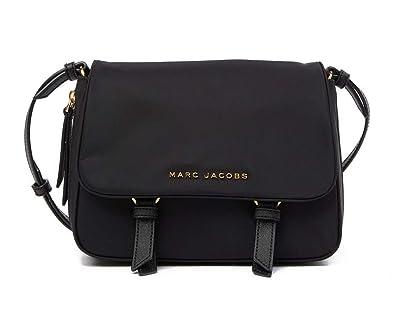 e2680fe02af3 Amazon.com  Marc Jacobs Zip That Mini Messenger Bag (Black)  Shoes