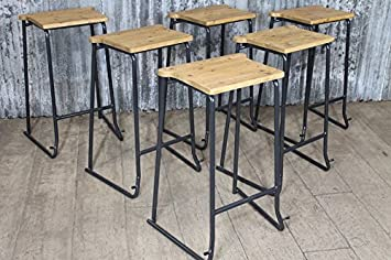 Pleasing Vintage Stacking Stools Lab Stools With Timber Seat Amazon Beatyapartments Chair Design Images Beatyapartmentscom
