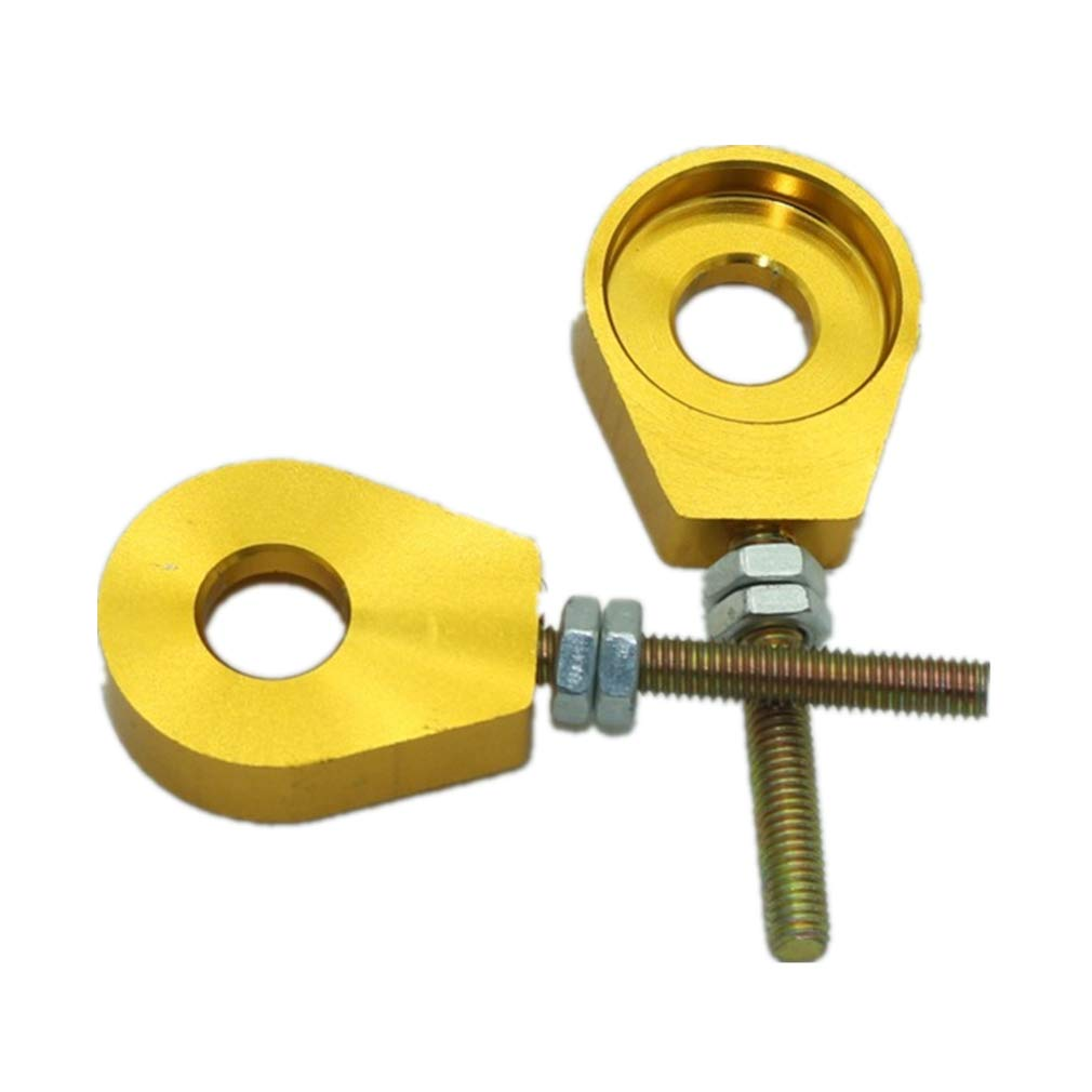 Amyli 1Pair 12mm Chain Tensioner Adjusters for Honda XR CRF50 70 DHZ BBR KLX112 IMR Dirt Bike ATV Scooter Bike Scooter