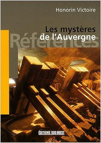 Livres Les mystères de l'Auvergne pdf, epub