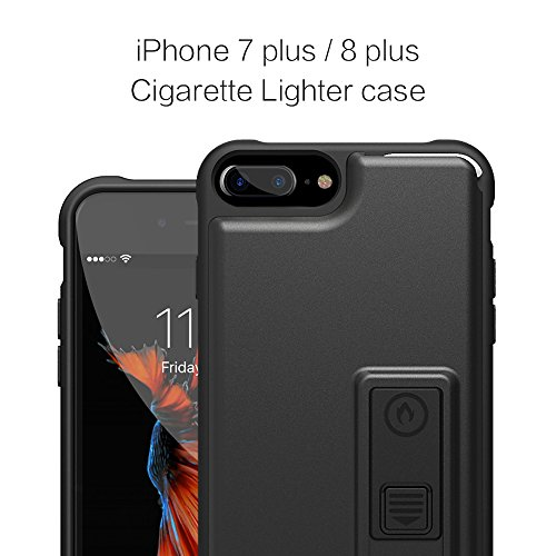 info for 7c473 e2dc5 iPhone 8 Plus Case, iPhone 7 Plus Case, ZVE Multifunctional Lighter Case  Durable Shockproof Protective Cover with Bottle Opener for iPhone 8 PLUS ...