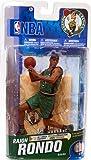 McFarlane Toys NBA Sports Picks Series 19 Action Figure Rajon Rondo (Boston Celtics) Alternate DARK Green Jersey Bronze Collector Level Chase