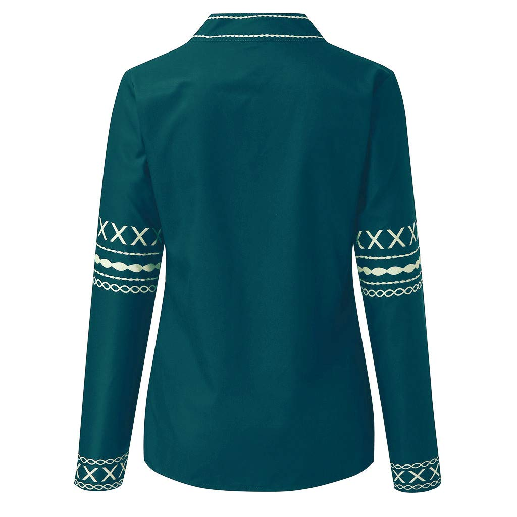 Loose Long Sleeve Tops African Printed Sweatshirts Tops Plus Size 8-22 UK BURFLY Womens Oversized Dashiki Pullover Blouse Shirts