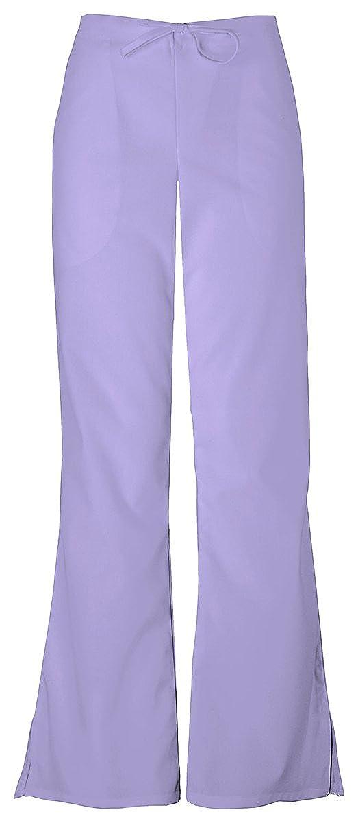 e26913a67ed Cherokee Women's Natural Rise Flare Leg Drawstring Pant, 4101 at Amazon  Women's Clothing store: